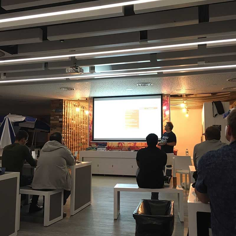Photo of from the AWS User Group North September 2019 Meetup